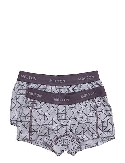 Numbers, 2-pk AOP Girl Shorts - CLOUD LILA