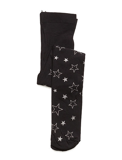 Tights 50 den with Glitter Stars - 900/SILVER