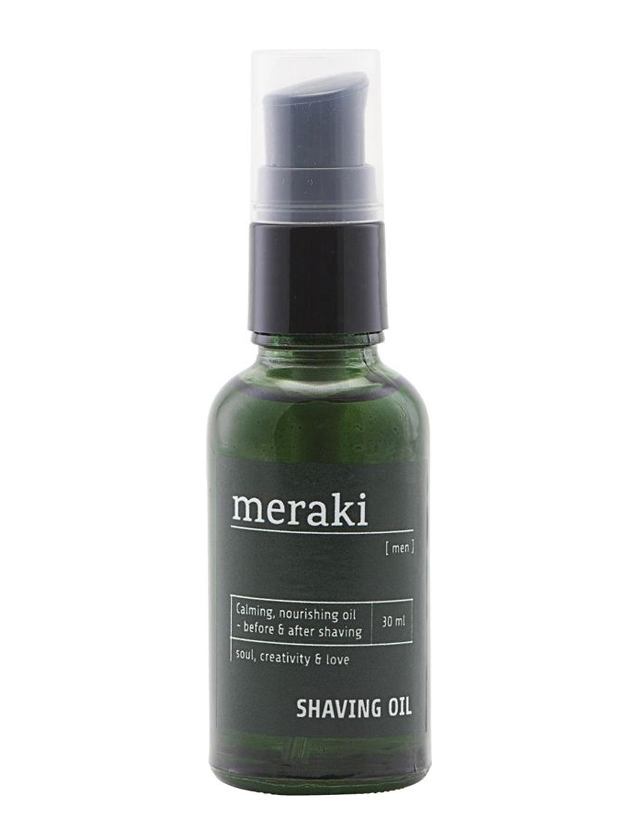 meraki Shaving oil, Men - NO COLUOR