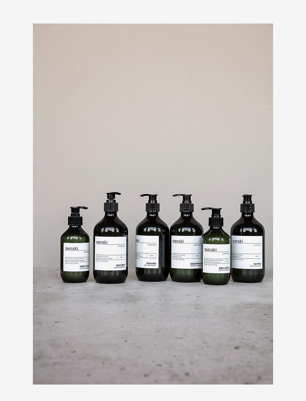 meraki - Hand lotion Linen dew - handkräm & fotkräm - clear - 1