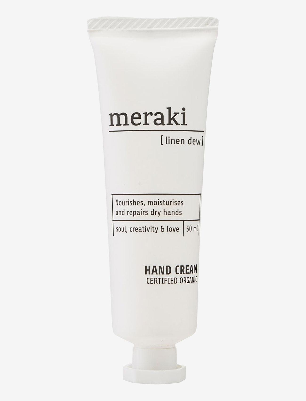 meraki - Hand cream, Linen dew - handkräm & fotkräm - no colour - 0