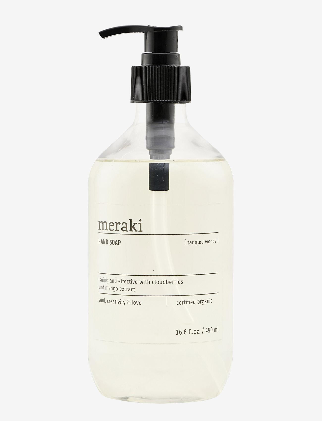 meraki - Hand soap Tangled Woods - handtvål - clear - 0