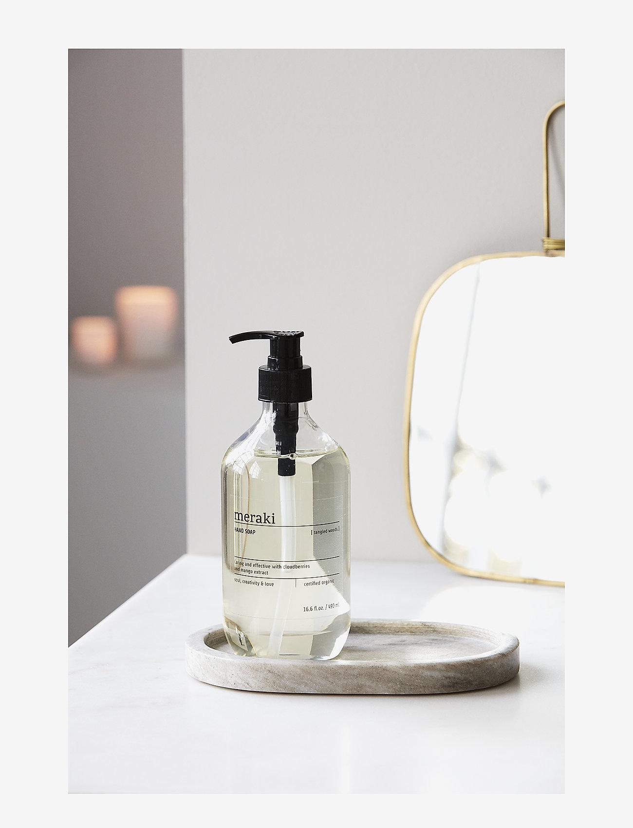 meraki - Hand soap Tangled Woods - handtvål - clear - 1