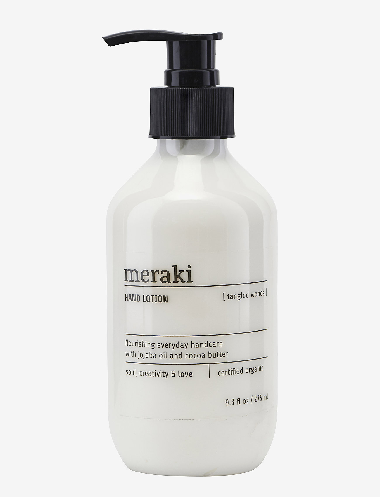 meraki - Hand lotion Tangled woods - handkräm & fotkräm - clear - 0