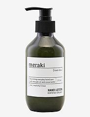 meraki - Hand lotion Linen dew - handkräm & fotkräm - clear - 0