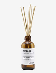 meraki - Diffuser w. 7 sticks, Sandcastles & Sunsets - doft - no coluor - 0