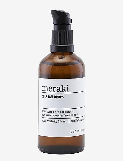 Self tan drops - rusketus - clear