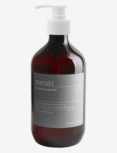 Shampoo, Volumising shampoo - shampoo - clear