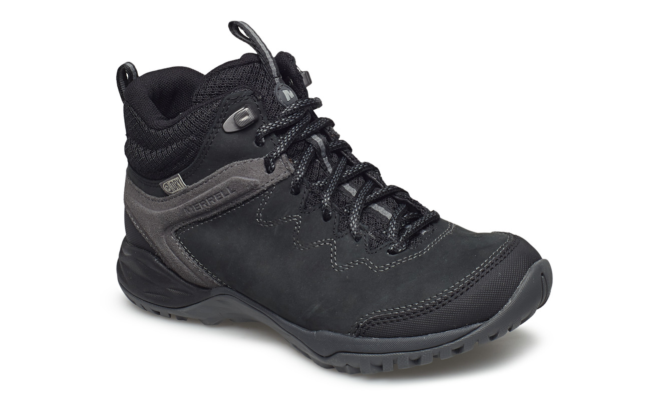 Merrell Siren Traveller Q2 Mid Waterproof - BLACK