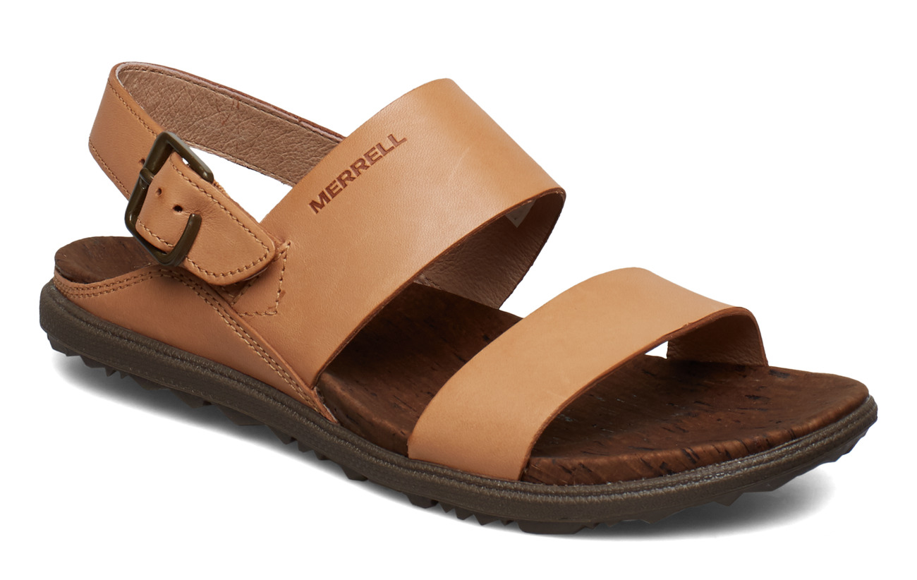 831056c34a72 Boozt   Women   Shoes   Sandals. Merrell Around Town Luxe Backstrap Natural  Tan