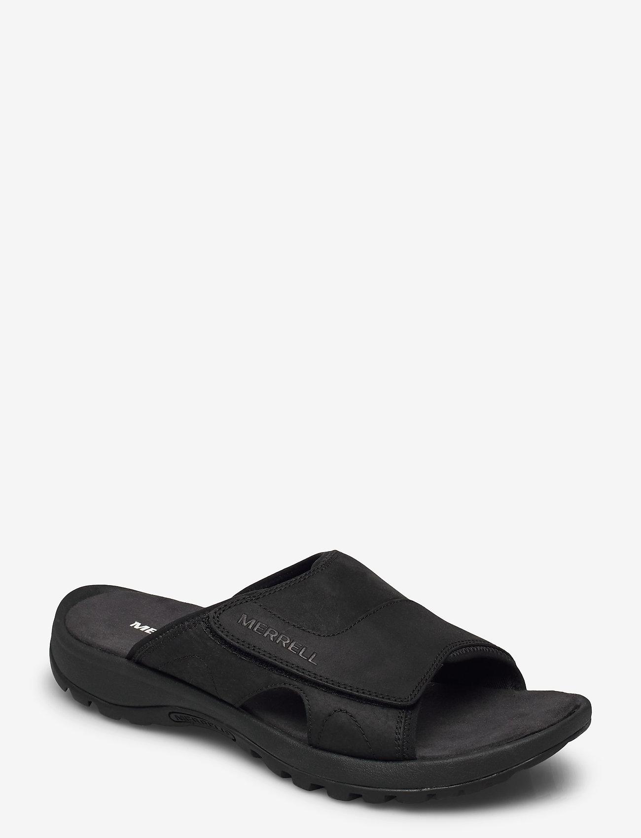 Merrell - Sandspur 2 Slide Black - pool sliders - black - 0