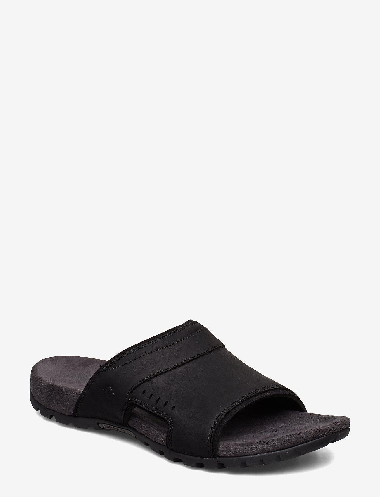 Merrell - Sandspur Lee Slide - pool sliders - black