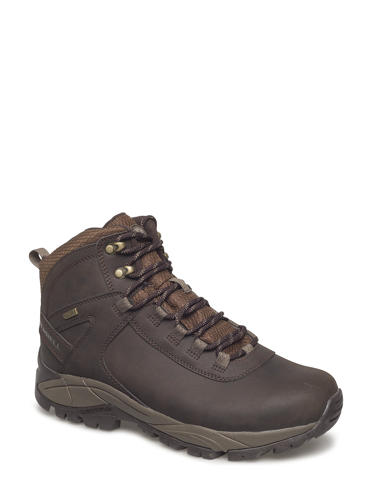 Image of Vego Mid Lthr Wtpf Black Shoes Sport Shoes Outdoor/hiking Shoes Brun Merrell (3406146927)