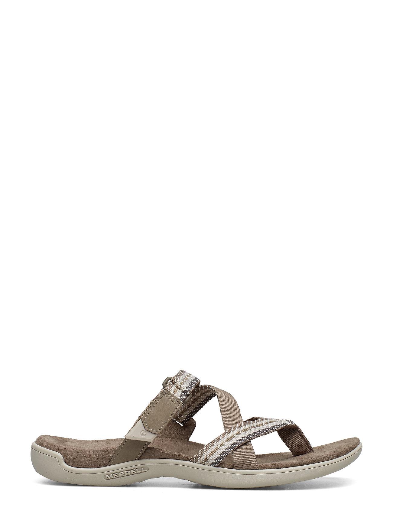 Merrell - District Mendi Thong Brindle - hiking sandals - brindle - 1