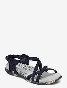 San Remo II Navy - hiking sandals - navy