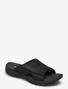 Sandspur 2 Slide Black - pool sliders - black