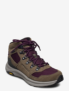 Ontario 85 Mesh Mid WP Olive/Blackberry - fjell- og vandresko - olive/blackberry
