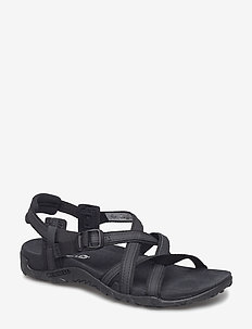 Terran Ari Lattice Black - vandringsandaler - black
