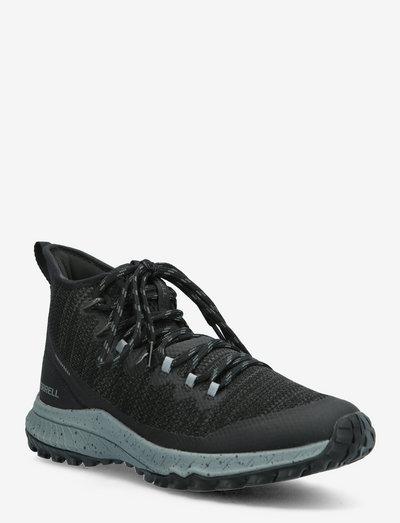 Bravada Mid WP - high top sneakers - black/grey
