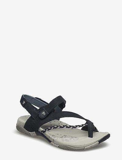 Siena Navy - hiking sandals - navy/summer green