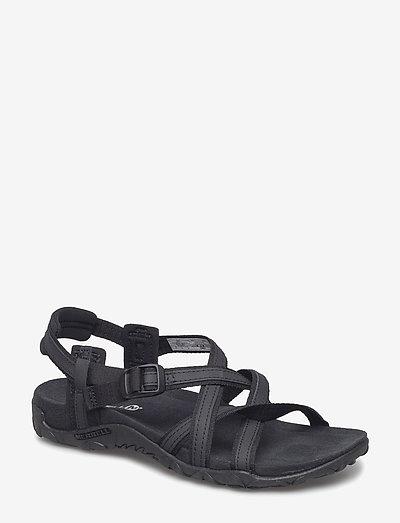 Terran Ari Lattice Black - hiking sandals - black