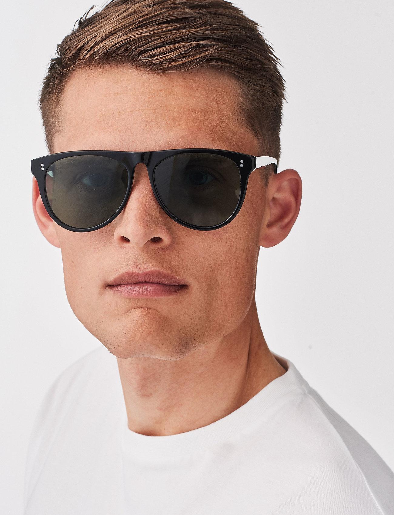 MessyWeekend - LOUIE - d-vormige zonnebril - black - 0
