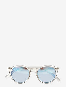 HOBBES - ronde zonnebril - crystal blue