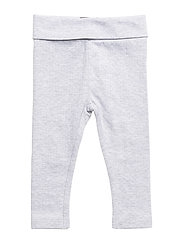 Leggings Needledrop - Light Grey Melange