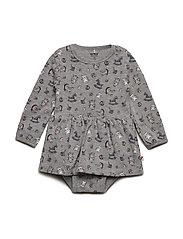 Dress LS AOP - CADET