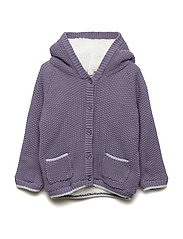 Cardigan Knit Teddy - CADET