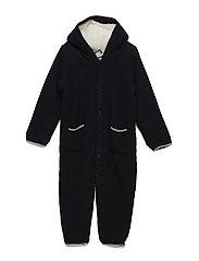 Wholesuit Knit Teddy - NAVY NIGHT