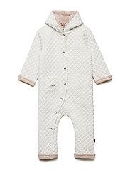 Suit LS Quilt - SNOW WHITE