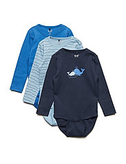 3-Pack Body LS - PALACE BLUE
