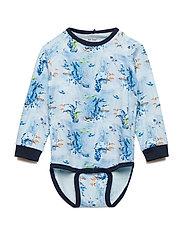 Body LS AOP - DRESS BLUES