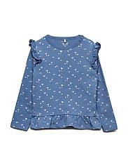 T-shirt LS AOP - MOONLIGHT BLUE