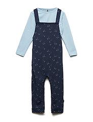 2 pcs set - Suit w/ Body - DRESS BLUES