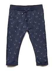 Pants AOP - DRESS BLUES