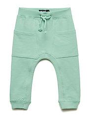 Pants Sweat - GRAYED JADE
