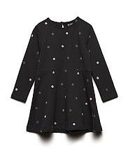Dress LS Sweat Dot - ASPHALT