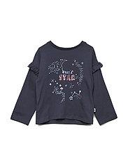 T-shirt LS - NAVY BLAZER