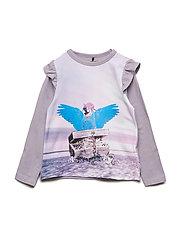 T-Shirt LS - LAVENDER GRAY