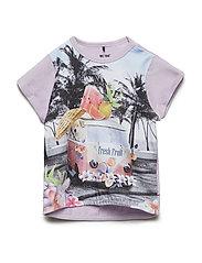T-Shirt SS - ORCHID PETAL