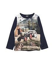 T-shirt LS - NAVY NIGHT