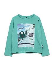 T-shirt LS - GREEN AS CUT