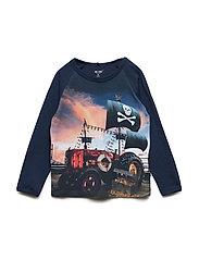 T-shirt LS - DRESS BLUES