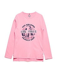 T-shirt LS - SACHET PINK
