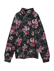 Sweatshirt LS AOP - ASPHALT