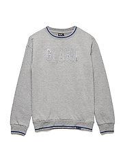 Pullover Sweat - GREY MELANGE