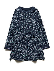 Dress LS Dot - DRESS BLUES