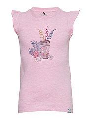 T-Shirt SS - PINK MIST